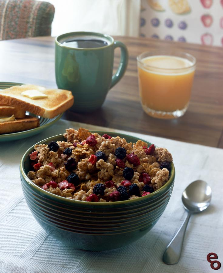 Berry Granola Breakfast (1)