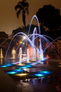 Tic Tac Toe Fountain